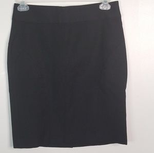 Banana republic black pencil skirt size 10